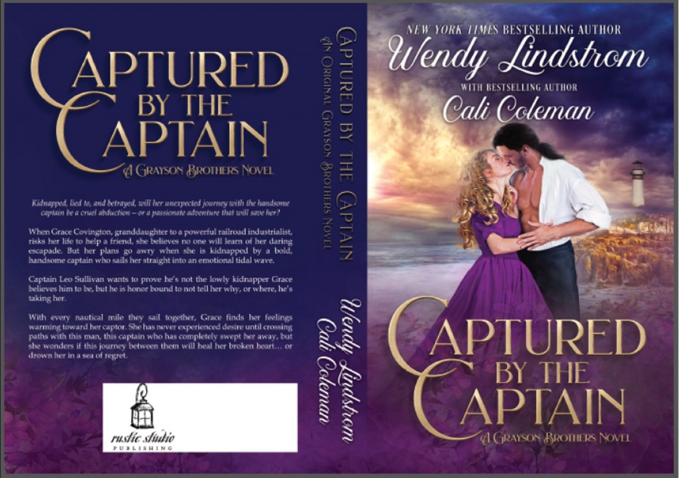 Captured by the Captain Print Cover
