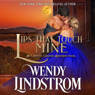 Lips That Touch Mine on Audiobook